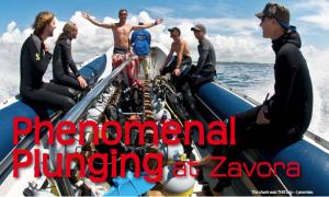 Diving Zavora