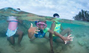 Underwater children